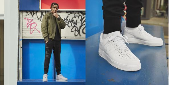 style with air force 1