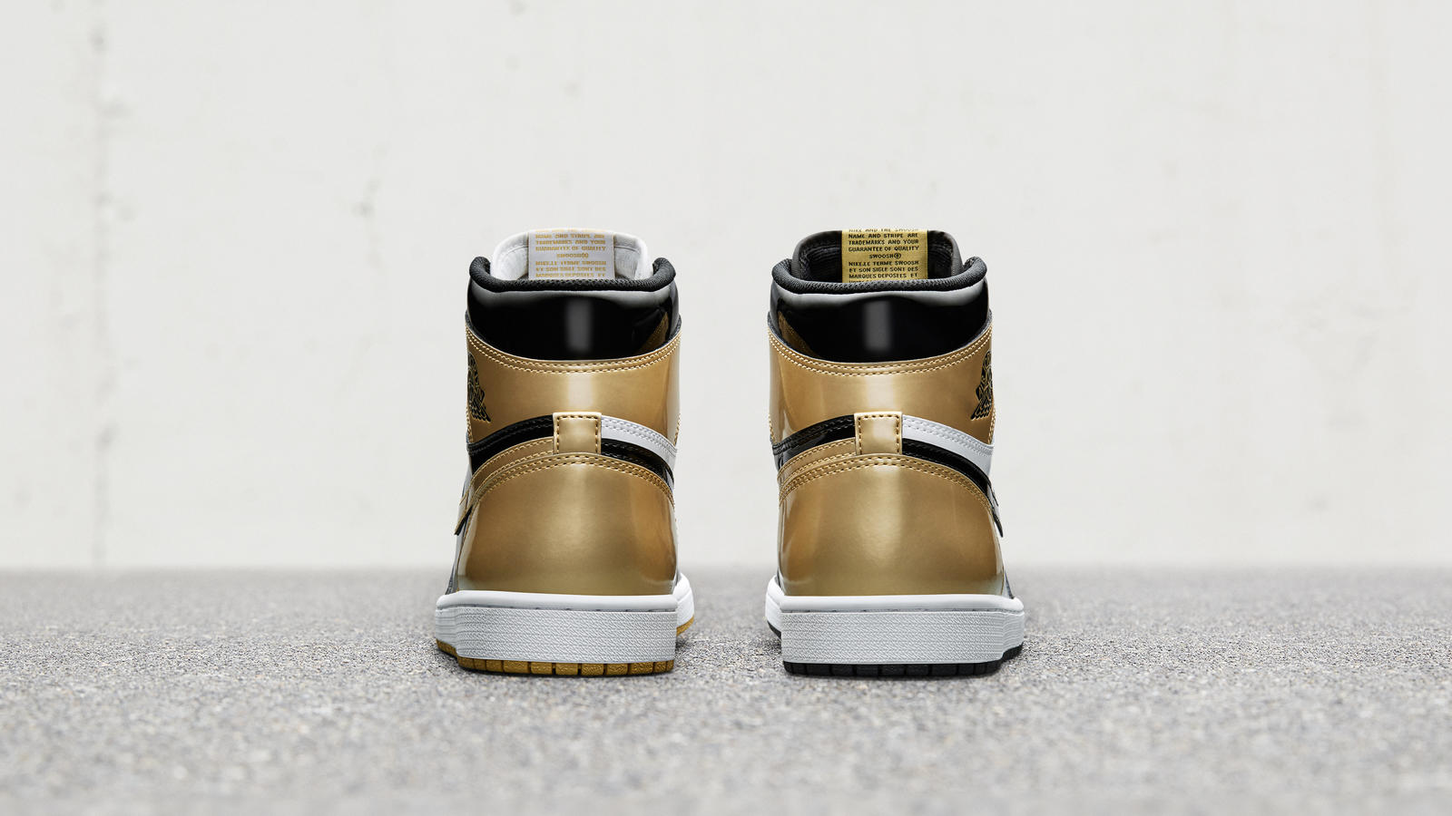 Air Jordan 1 Top 3 Gold 2