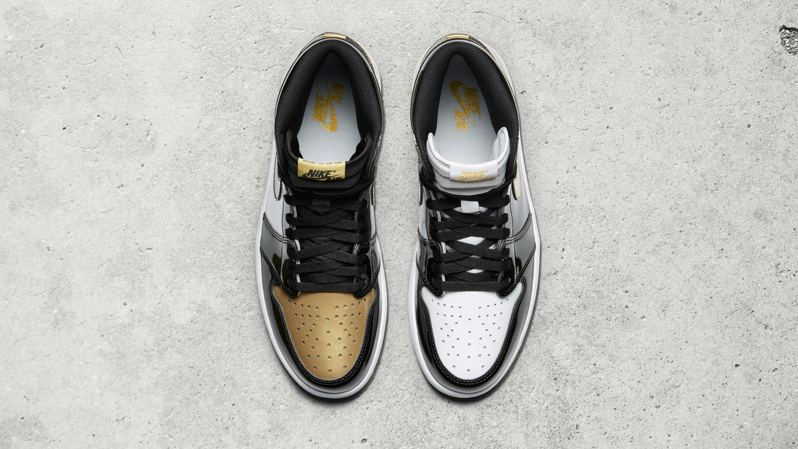 Gold jordan 1 top 3 03 native 1600
