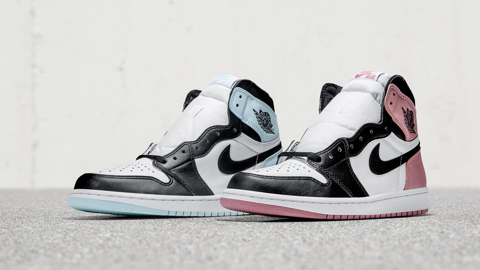 "Air Jordan I ""Mint"" and ""Rose"""