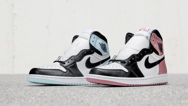 Air Jordan I Igloo and Rust Pink - Nike
