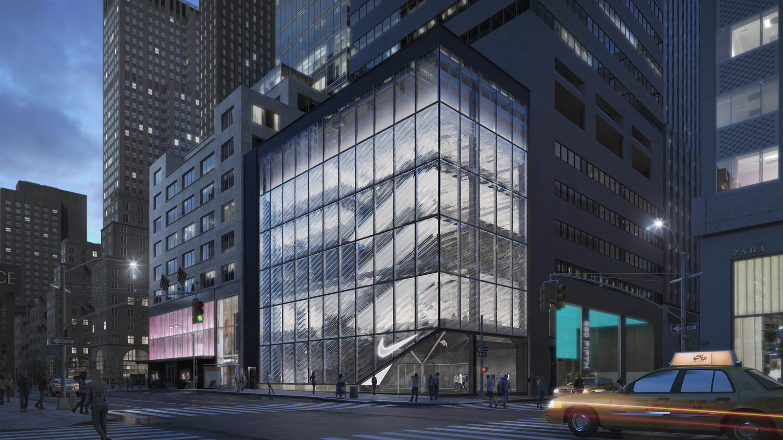 Boutique en ligne mejor selección de patrones de moda New Flagship Store Planned for New York City - Nike News