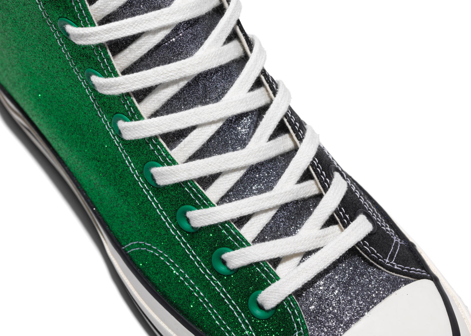 Opposites Attract in Converse and JW Anderson's Collaborative GLITTER_GUTTER Collection 1