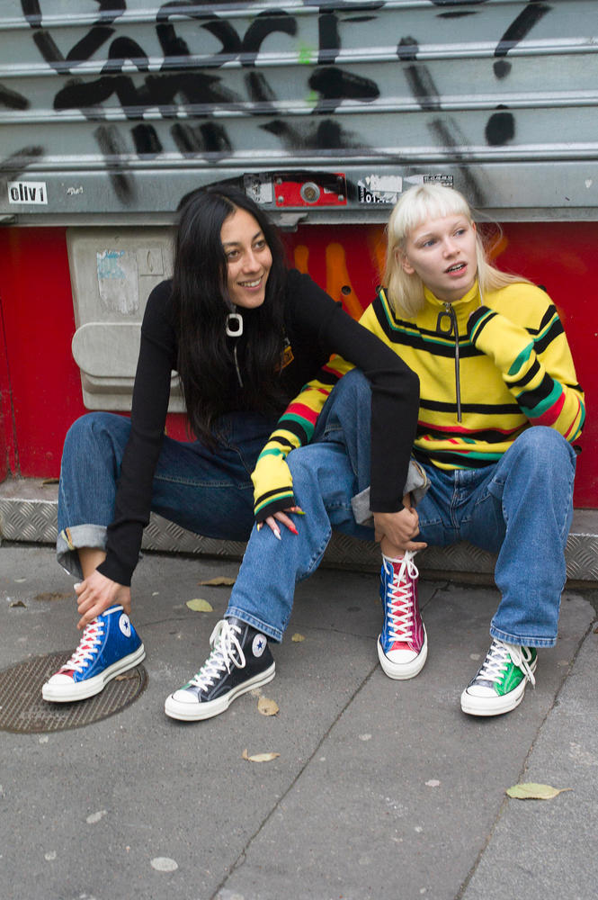 Opposites Attract in Converse and JW Anderson's Collaborative GLITTER_GUTTER Collection
