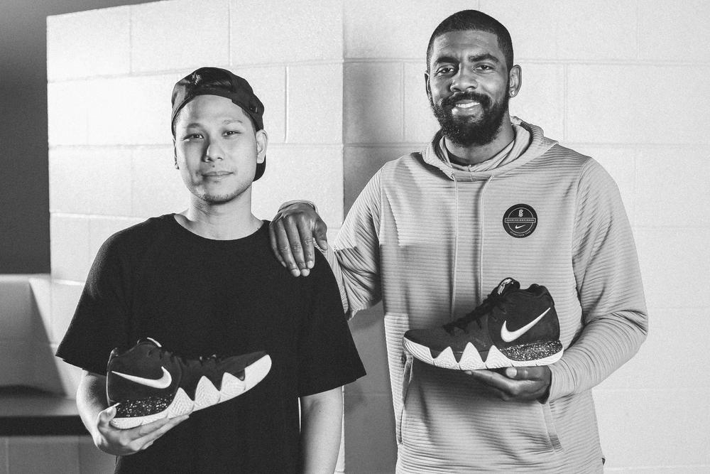 Meet Kyrie Irving's New Design Partner and the KYRIE 4
