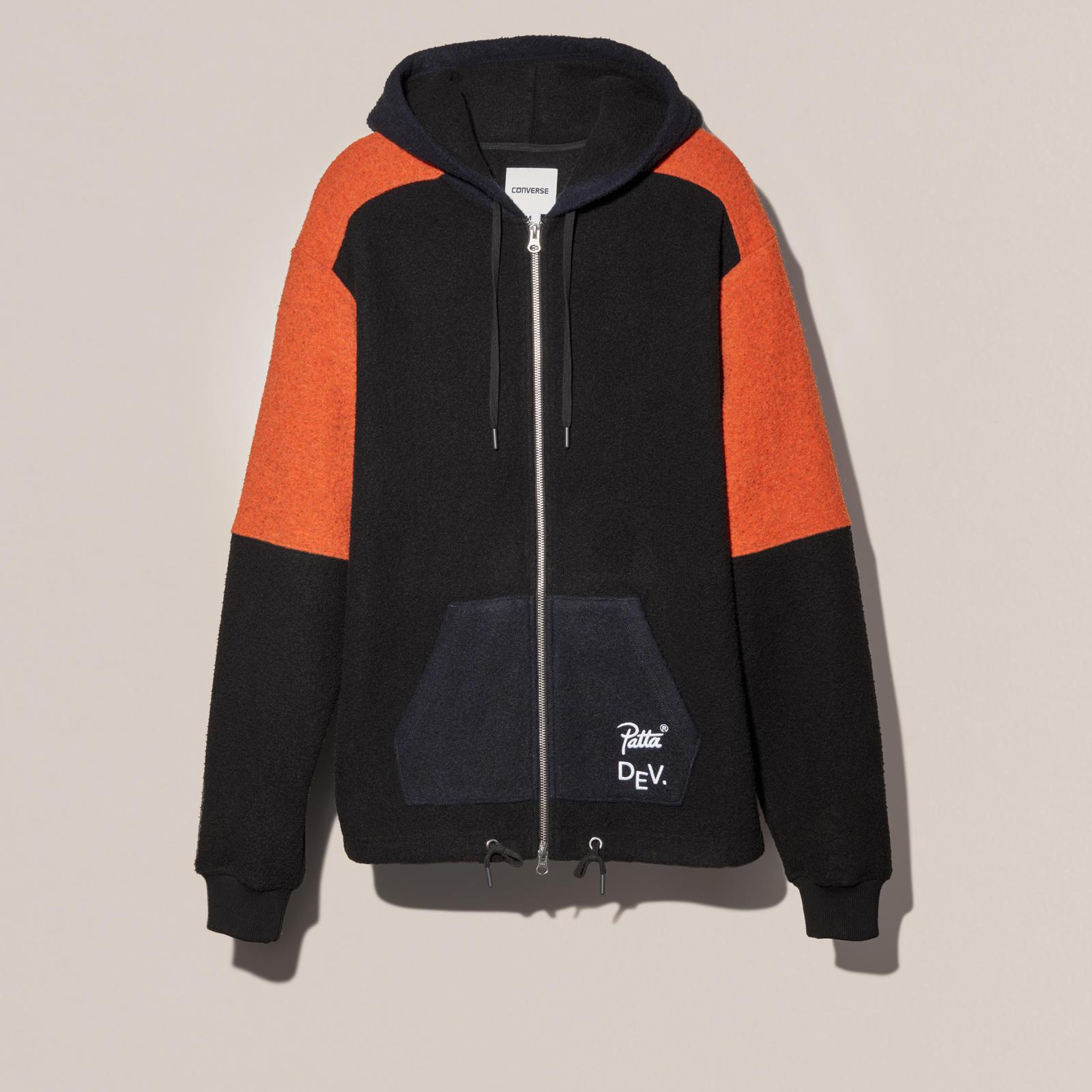 converse fleece hoodie