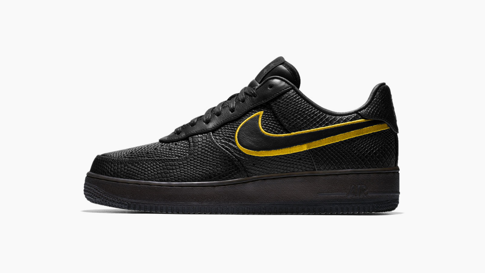 save off e5c04 70d7a Five Things to Know About the Commemorative Kobe Bryant Black Mamba Air  Force 1 10