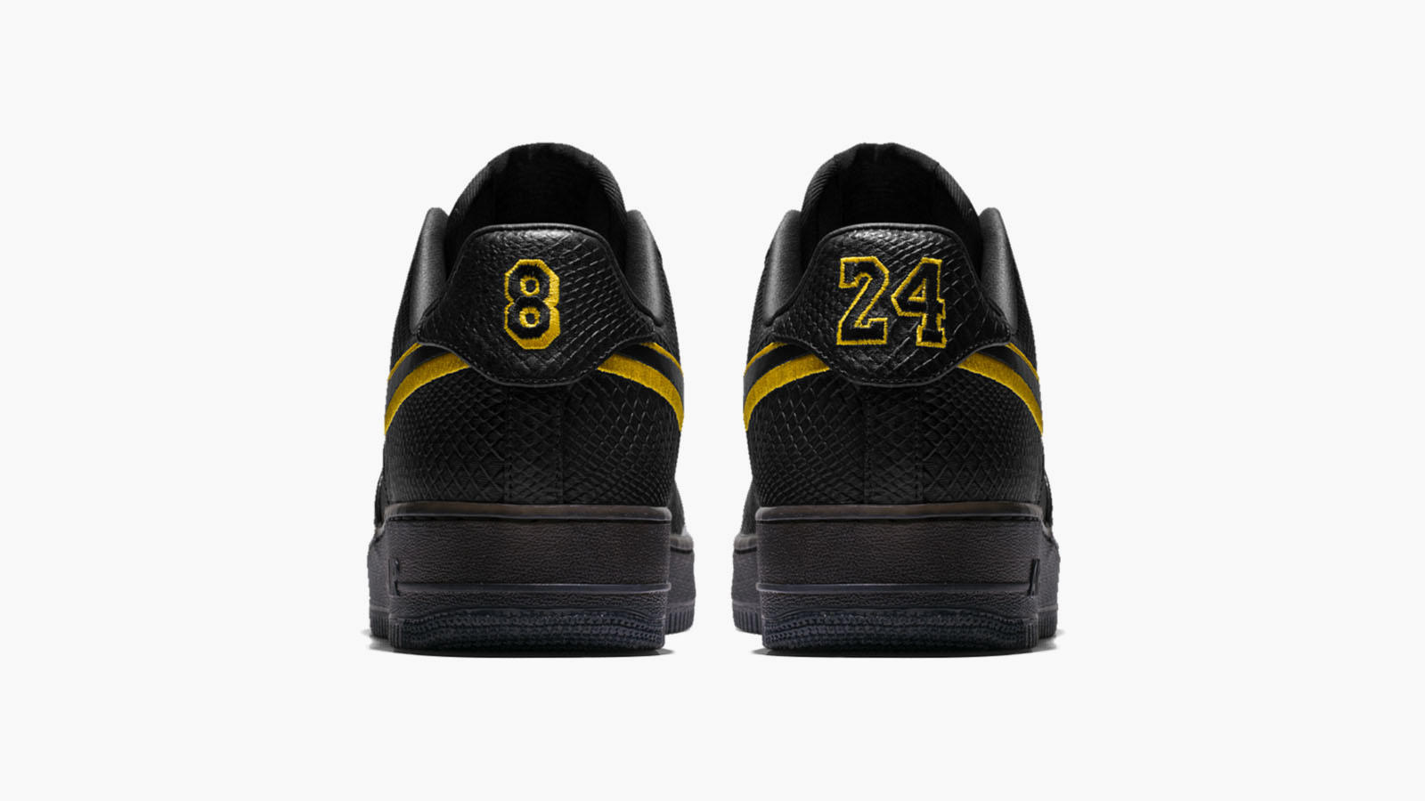 Five Things to Know About the Commemorative Kobe Bryant Black Mamba Air Force 1 17