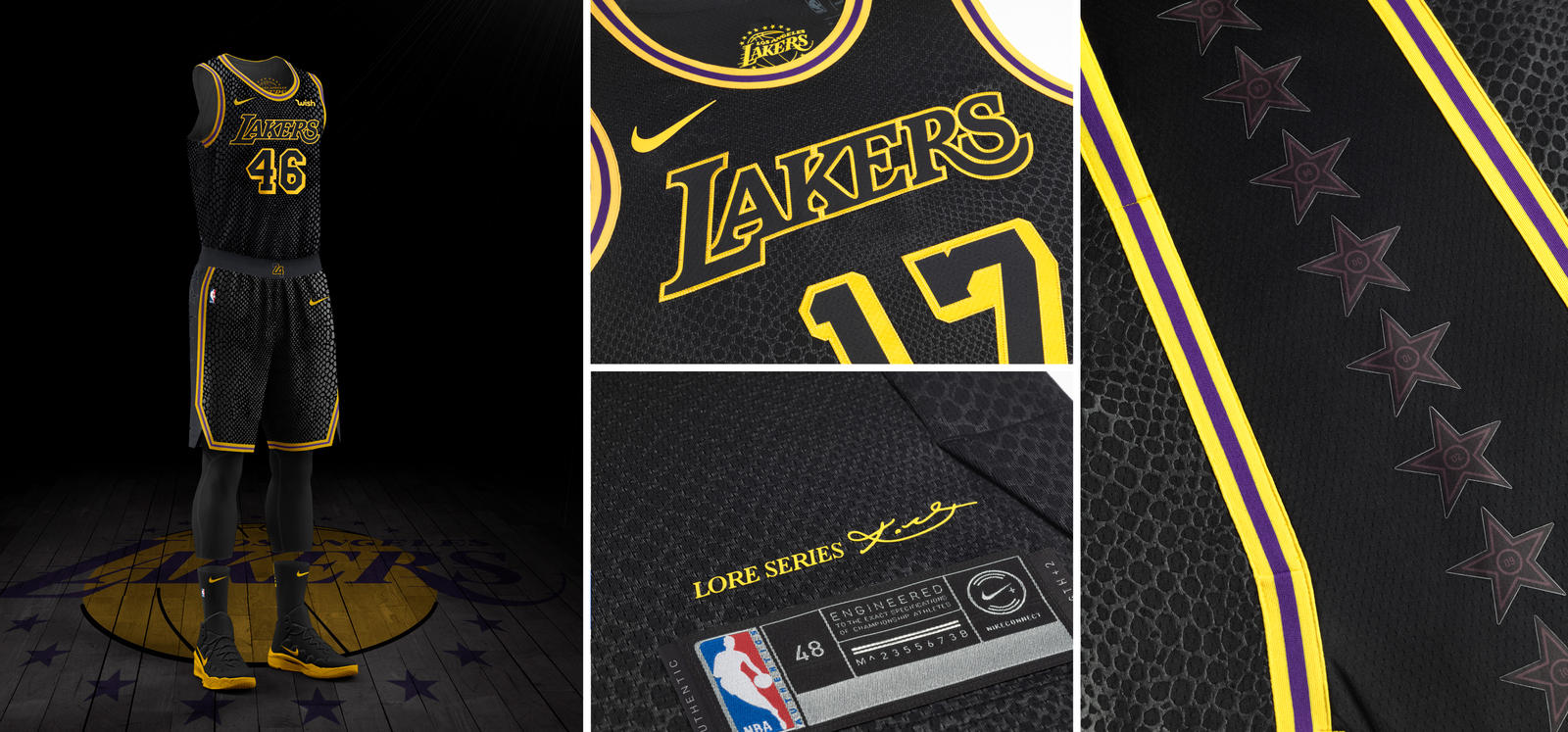 6836f0c8655 Los Angeles Lakers. Nike NBA City Edition ...