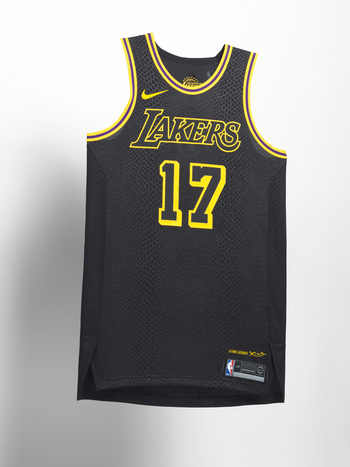 e89f58080dcb Nike NBA City Edition Uniform 39. Los Angeles Lakers