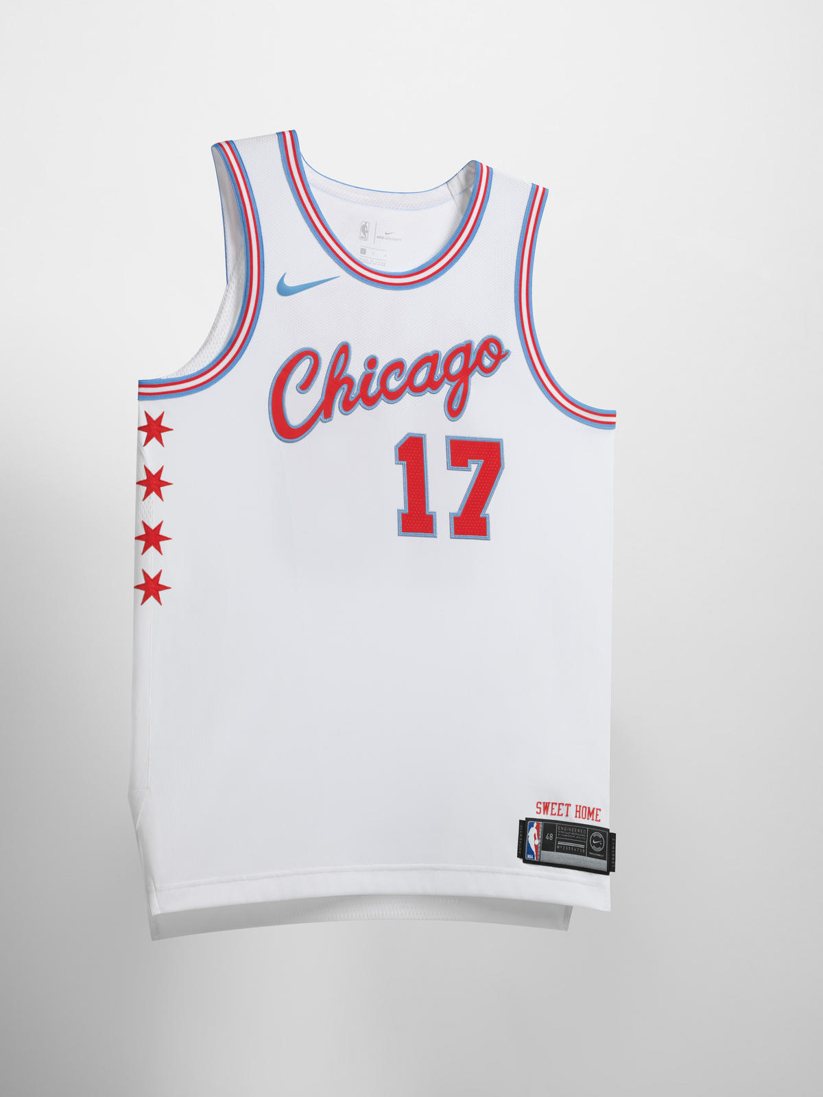 2c7952e011b Nike NBA City Edition Uniform 42. Chicago Bulls