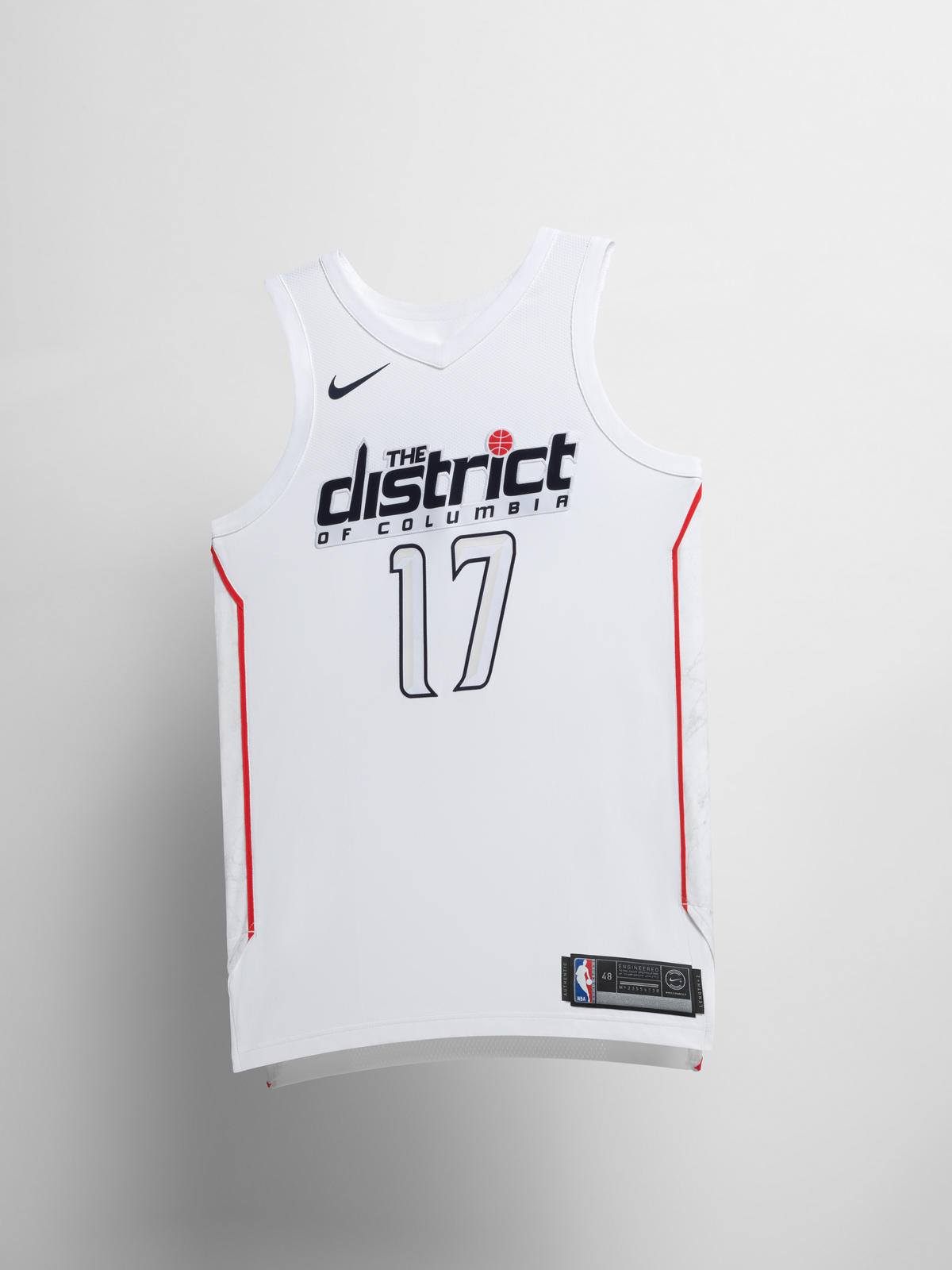 4ee68824e Nike NBA City Edition Uniform 48. Washington Wizards