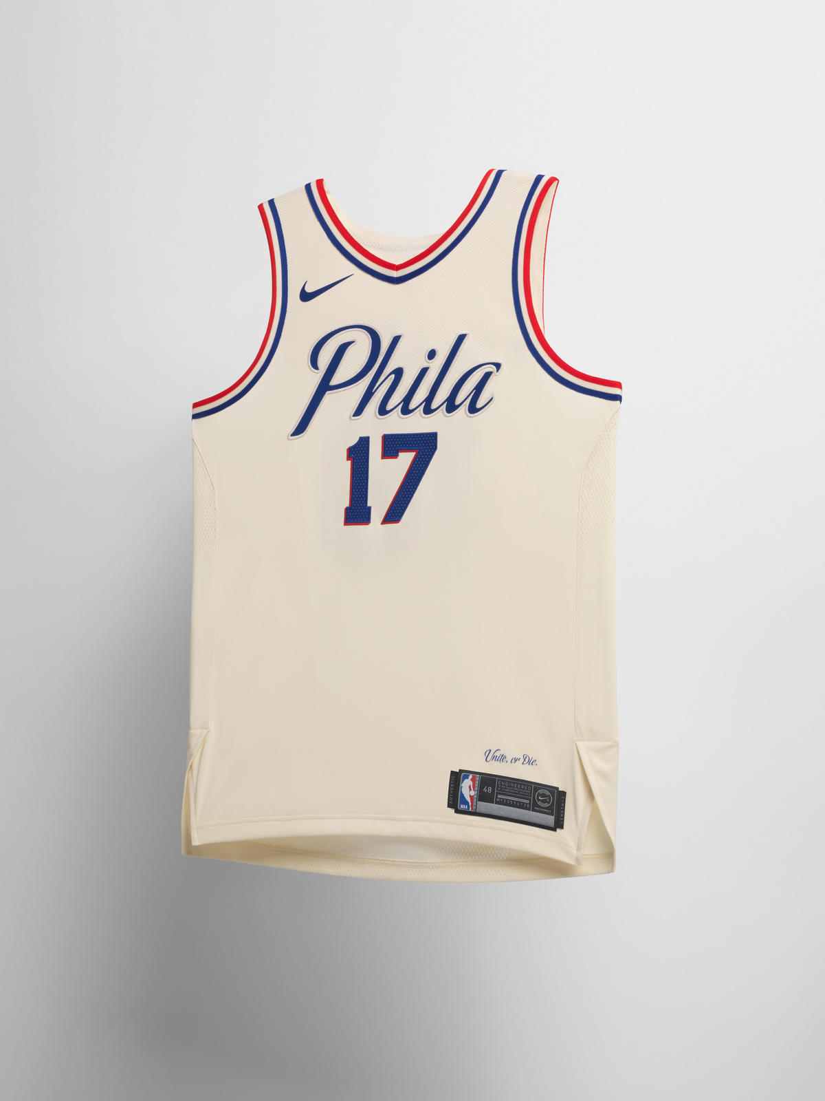 c0ca14a90 Nike NBA City Edition Uniform 56. Philadelphia 76ers