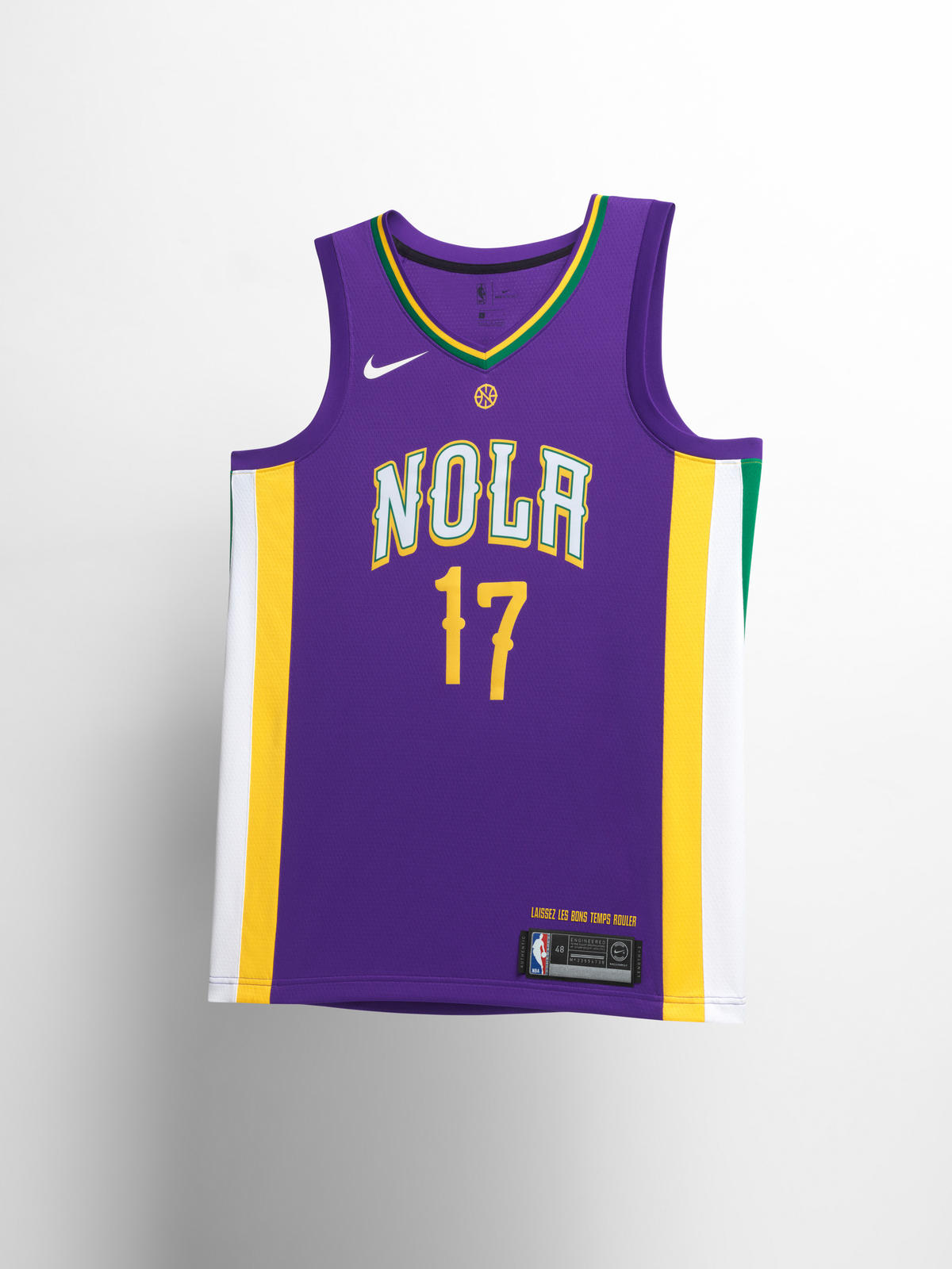 0d39380c0 Nike NBA City Edition Uniform 65. New Orleans Pelicans