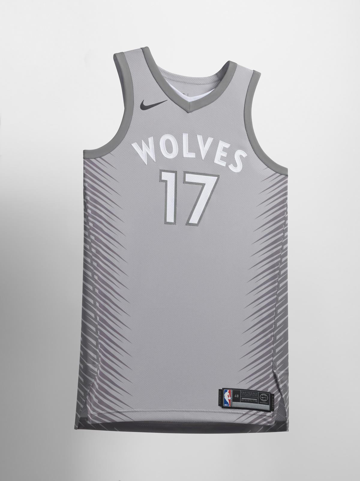 2107b033006 Nike NBA City Edition Uniform 67. Minnesota Timberwolves
