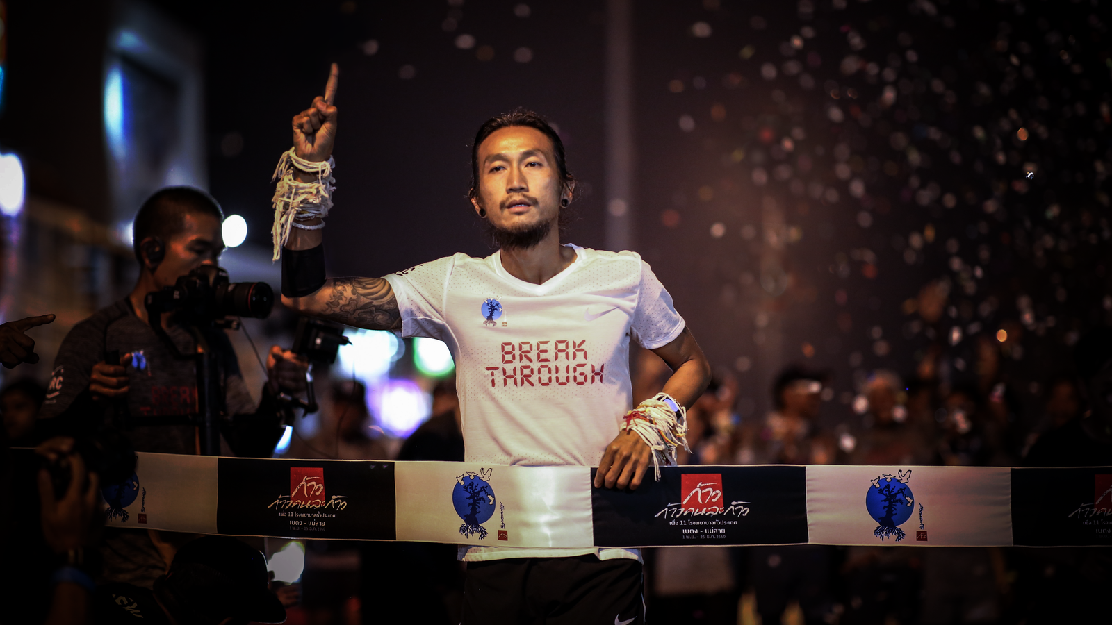THAI ROCK STAR TOON COMPLETES HIS EPIC 55-DAY RUN 8