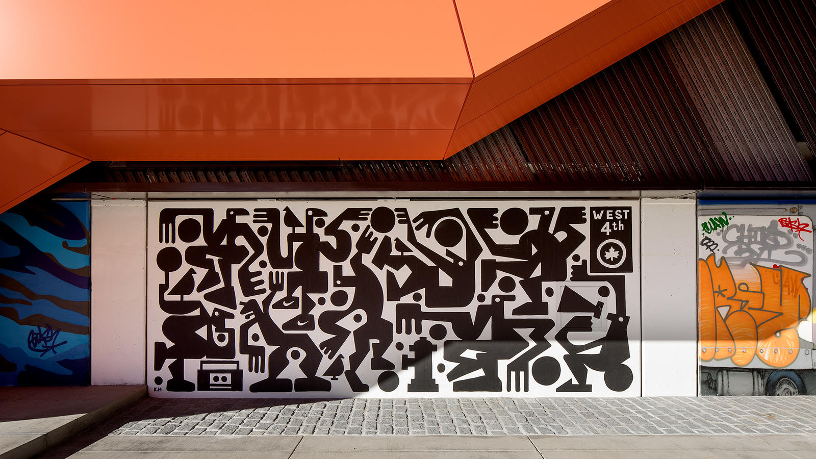 Stash and More Paint Murals for Nike's New NYC Garage 0