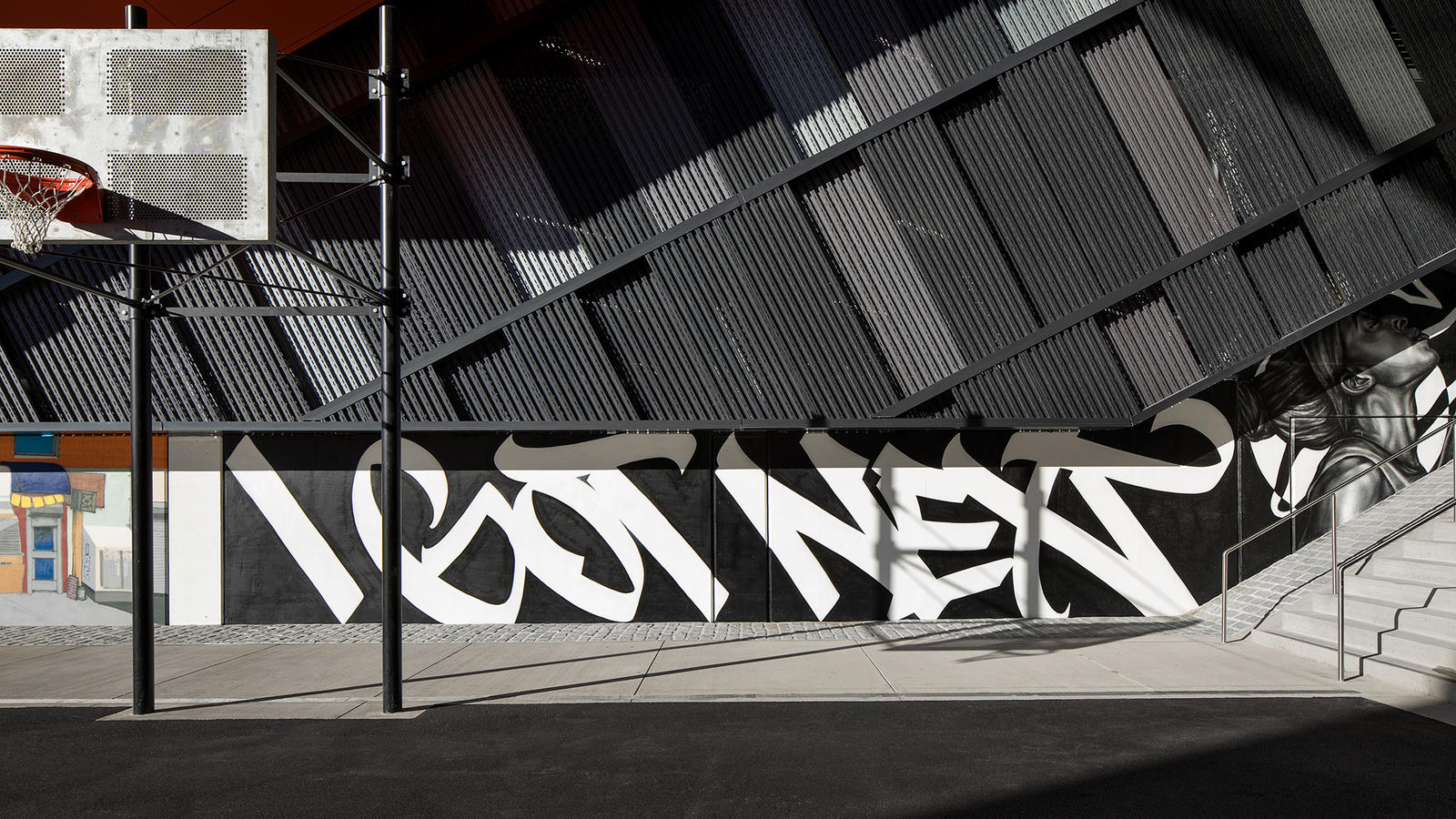 Stash and More Paint Murals for Nike's New NYC Garage 8