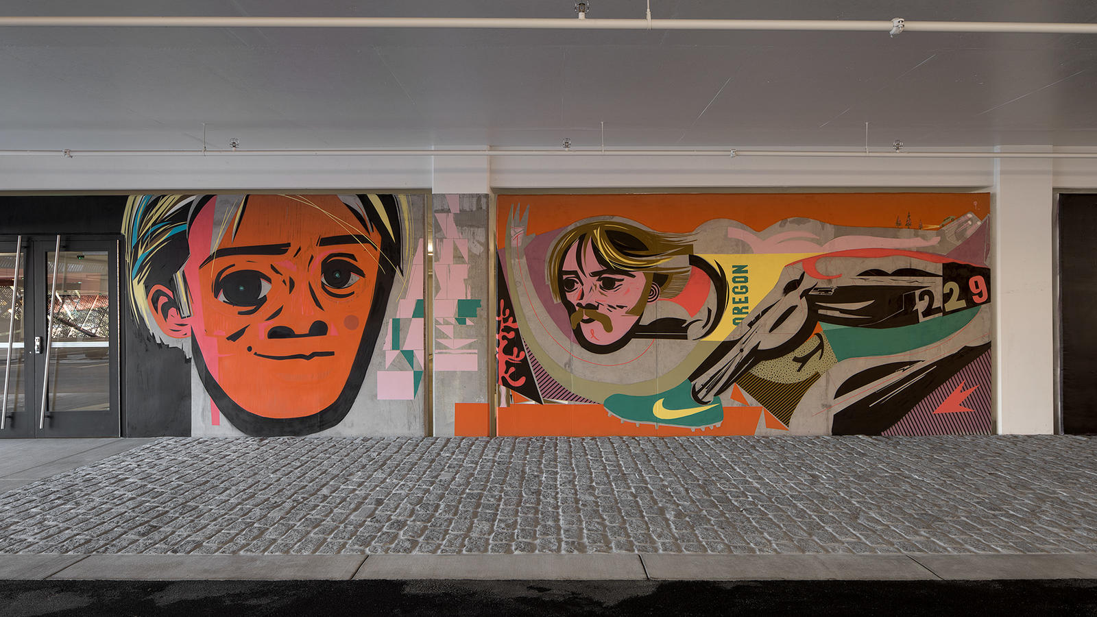 Stash and More Paint Murals for Nike's New NYC Garage 9