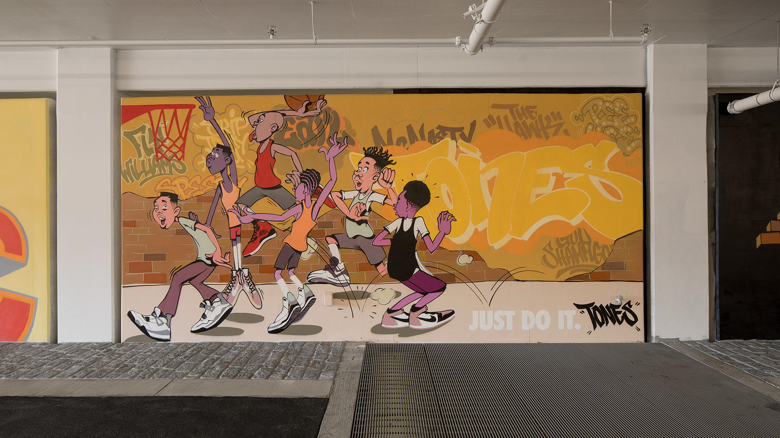 Stash and More Paint Murals for Nike's New NYC Garage 12