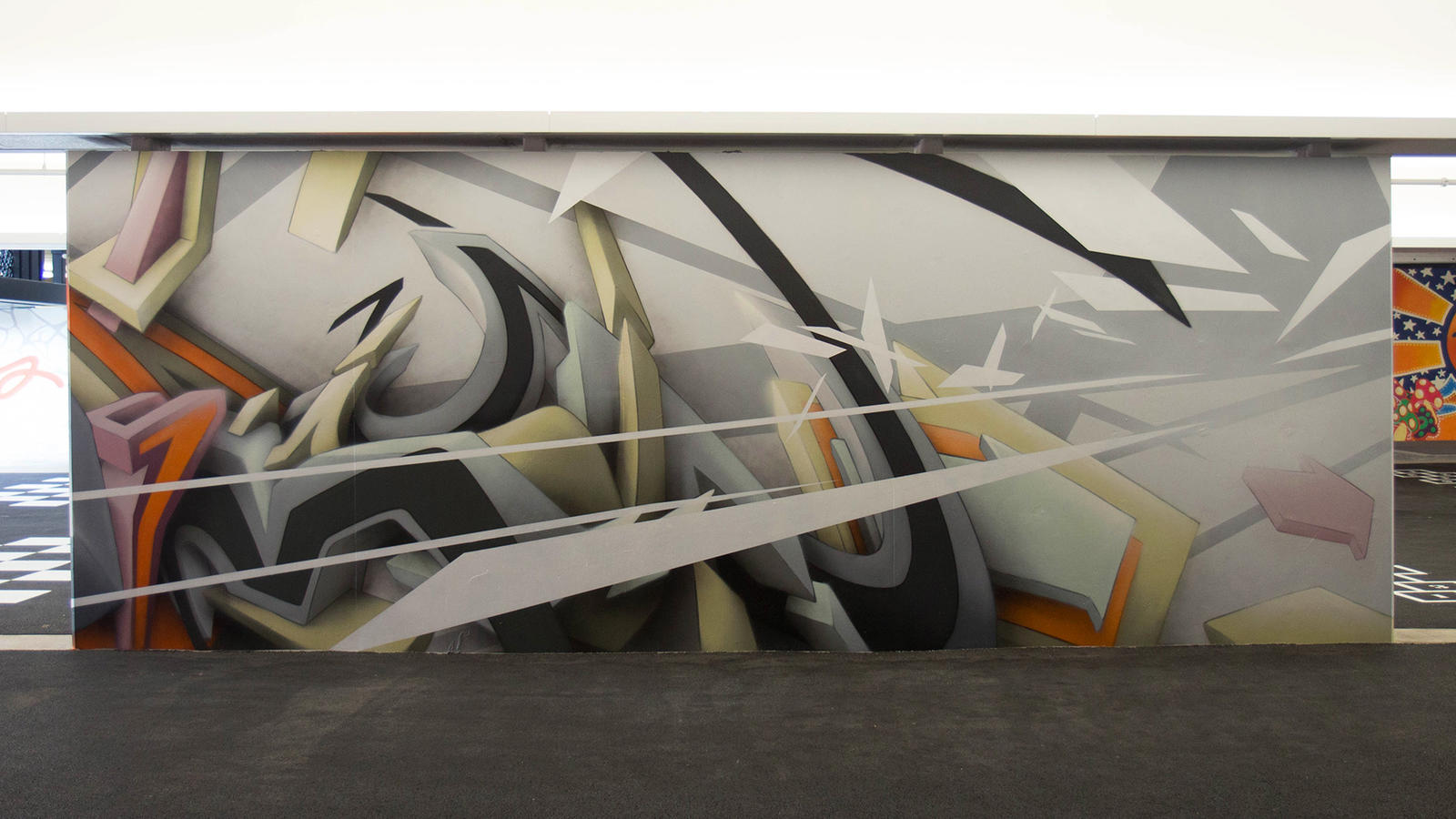 Stash and More Paint Murals for Nike's New NYC Garage 15