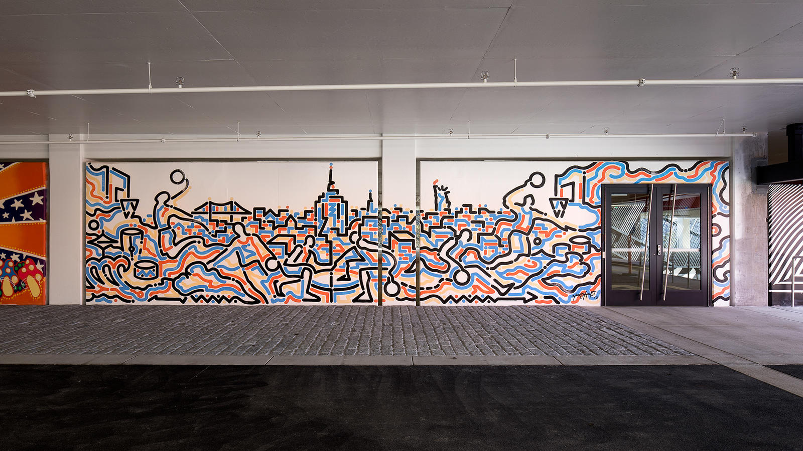 Stash and More Paint Murals for Nike's New NYC Garage 18