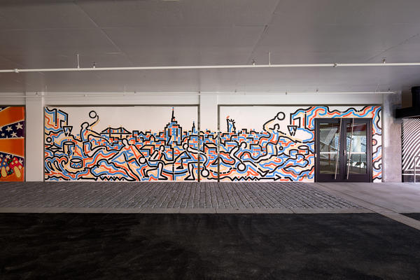 LO · HI. Stash and More Paint Murals for Nike's New NYC Garage 18