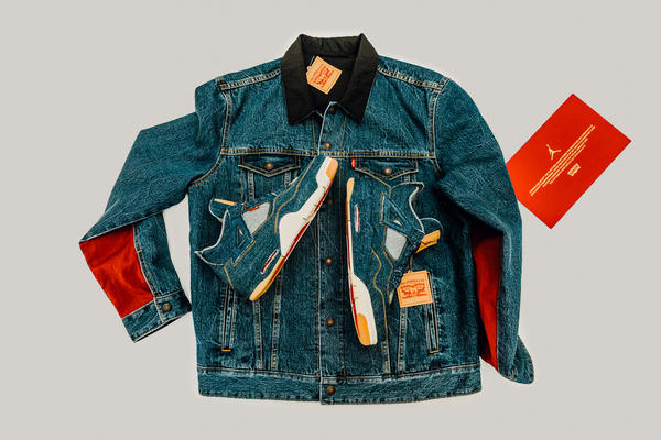 Jordan Brand x Levi's® Air Jordan IV and Reversible Trucker Jacket