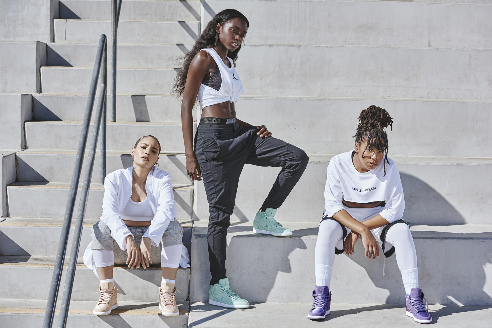 Jordan Brand Reveals Spring 2018 Women's Collection. Share Image. Jordan  Brand's Spring 2018 ...