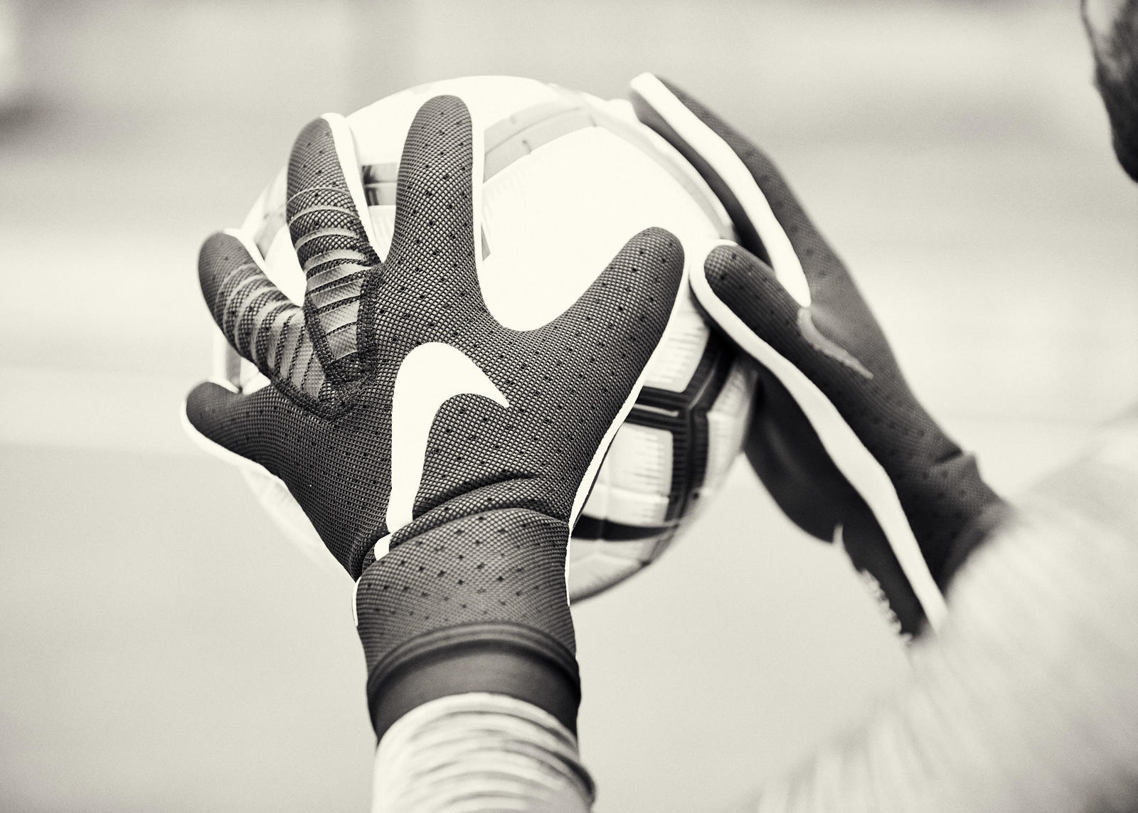 Nike Reimagines Goalkeeper Gloves