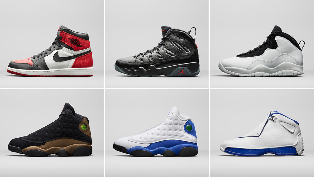 Jordan Brand Unveils Select Styles for the Spring Season