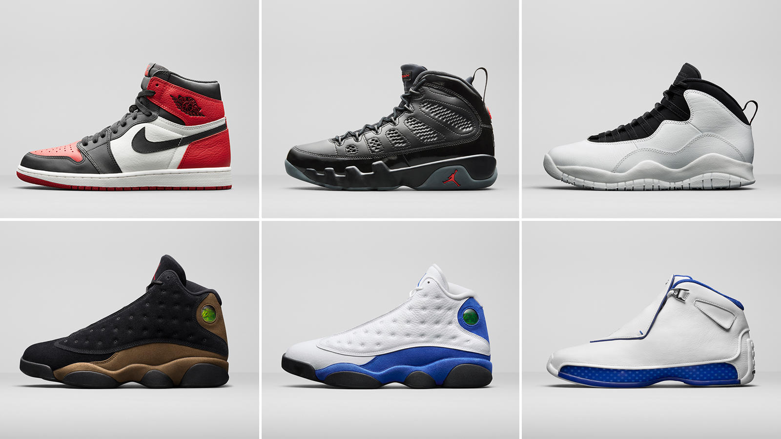 Jordan Brand Unveils 2018 Retro Styles for the Spring Season - Nike News 77abc542a6