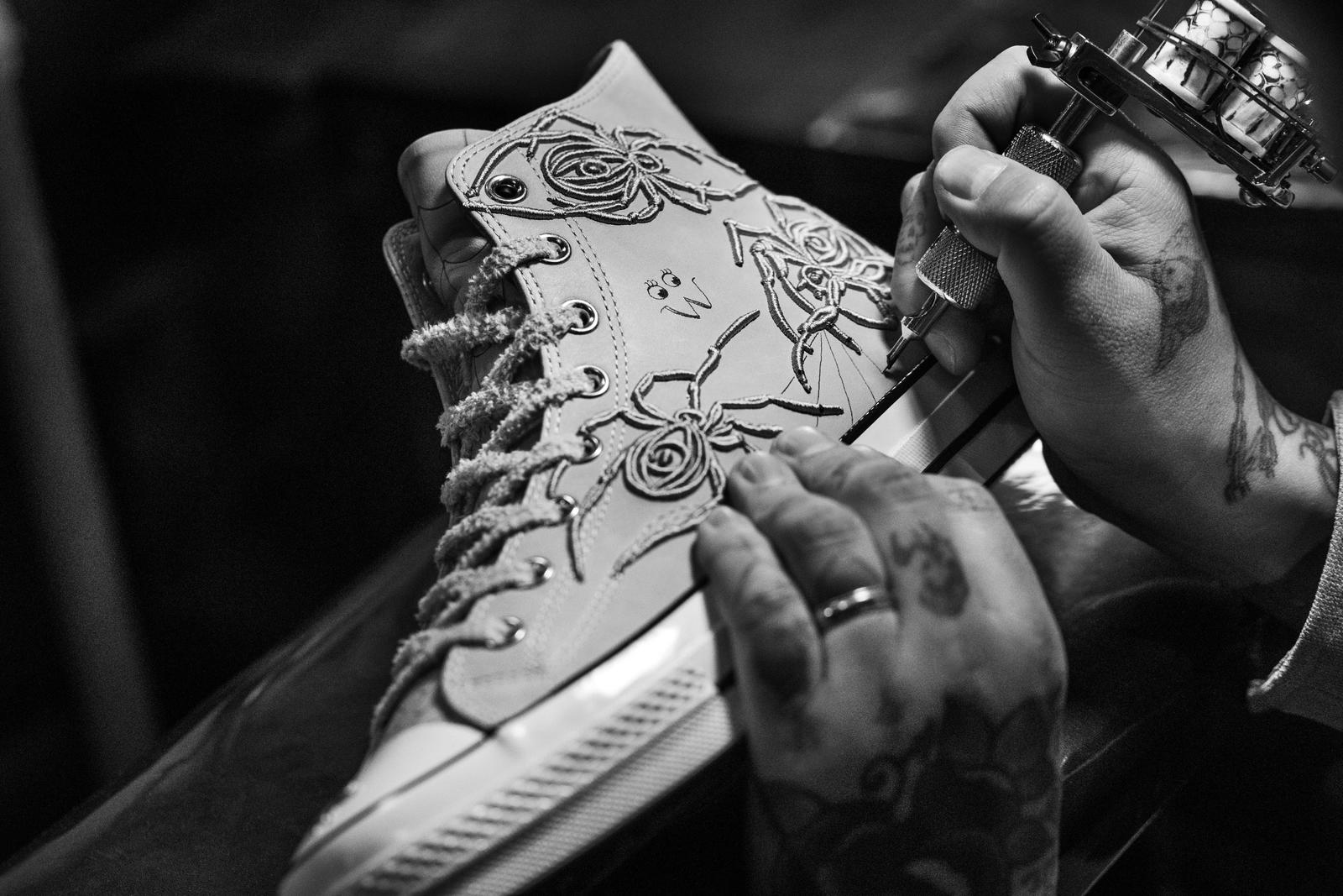 Converse and Dr. Woo Collaborate on Set of Limited Chuck 70s 8