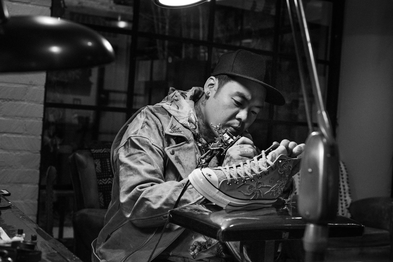 Converse and Dr. Woo Collaborate on Set of Limited Chuck 70s 9