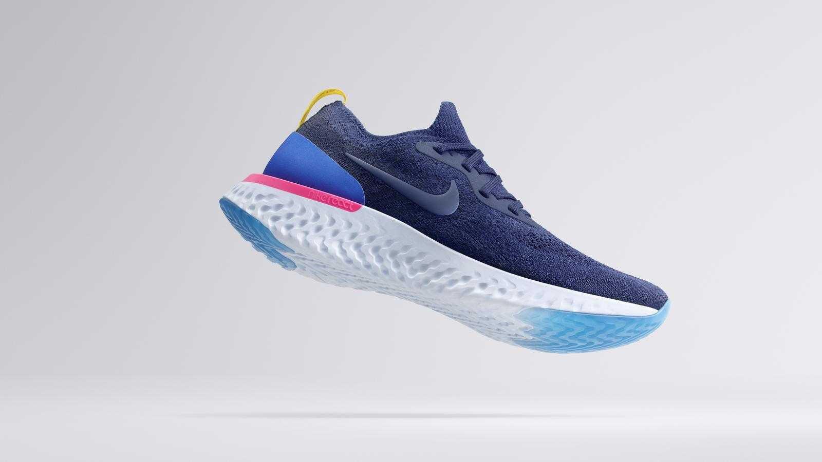 nike epic react flyknit running shoe nike news