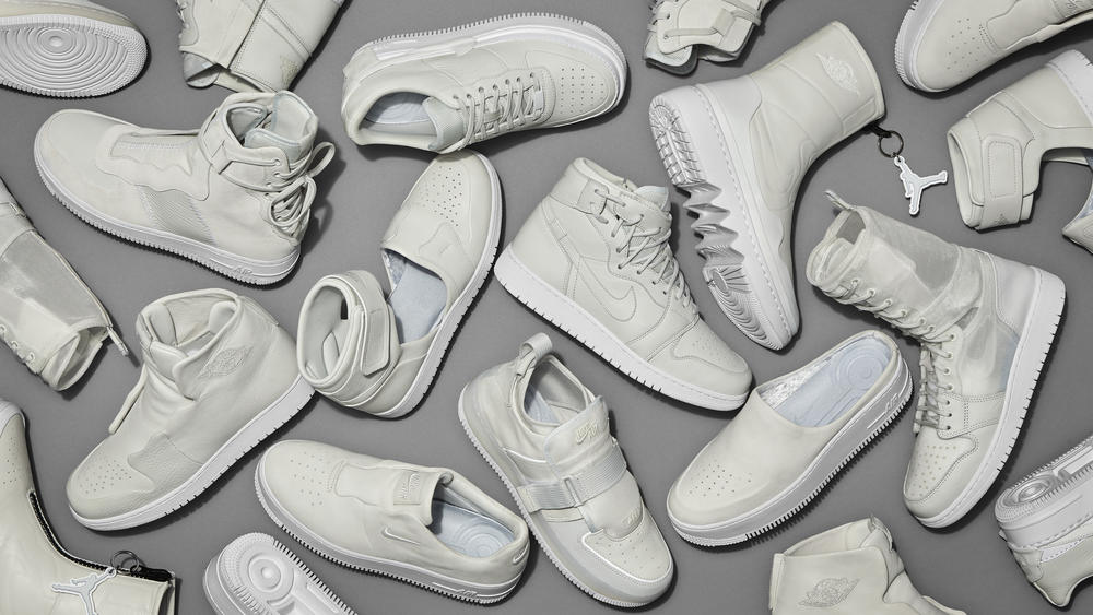 The Nike 1 Reimagined: Air Force 1 Womens and Air Jordan 1 Womens