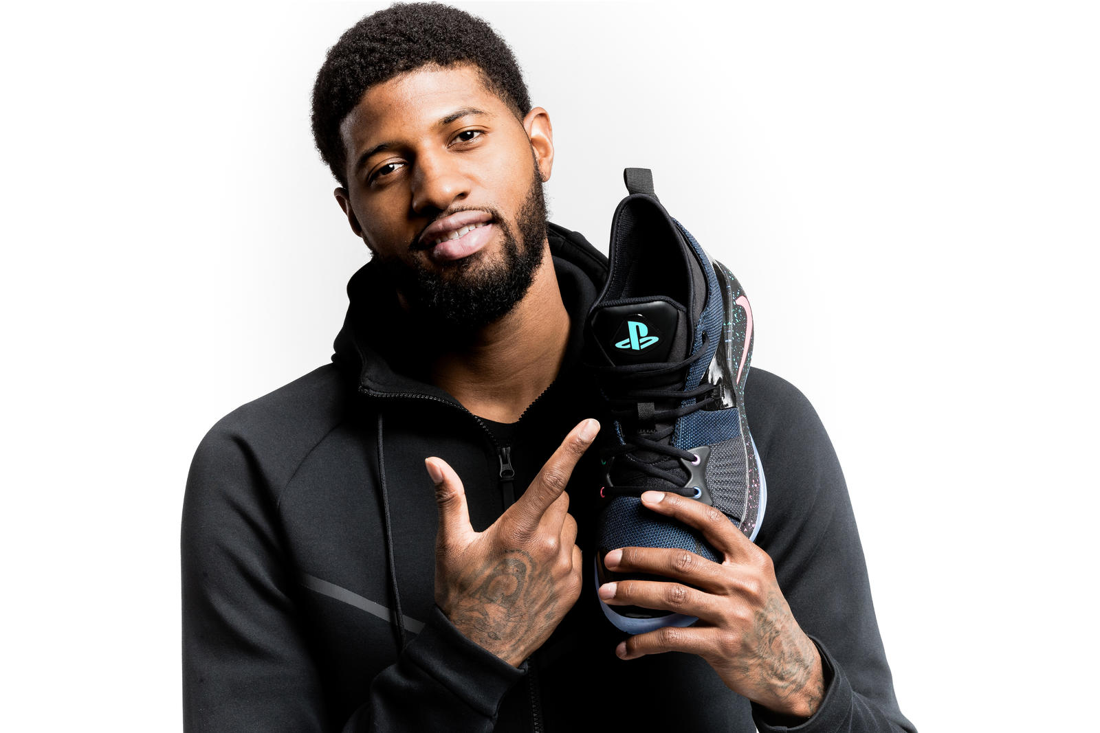 Introducing Paul George's Second Signature Shoe, the PG2 3