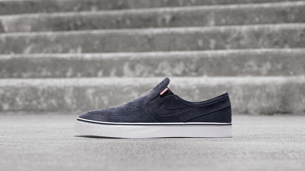 Poler x Nike SB Janoski Slip-On Skateboard Shoe