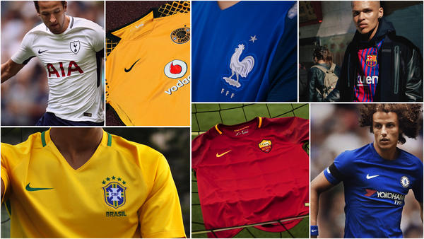 Jersey Shop Offers Nike's Best Selection of Football Kits and Invites Collaboration