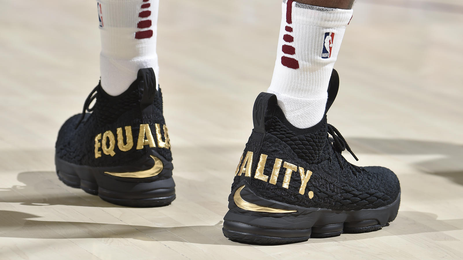 Win A Pair of Nike LeBron 15 EQUALITY Sneakers - Nike News fe6757f39