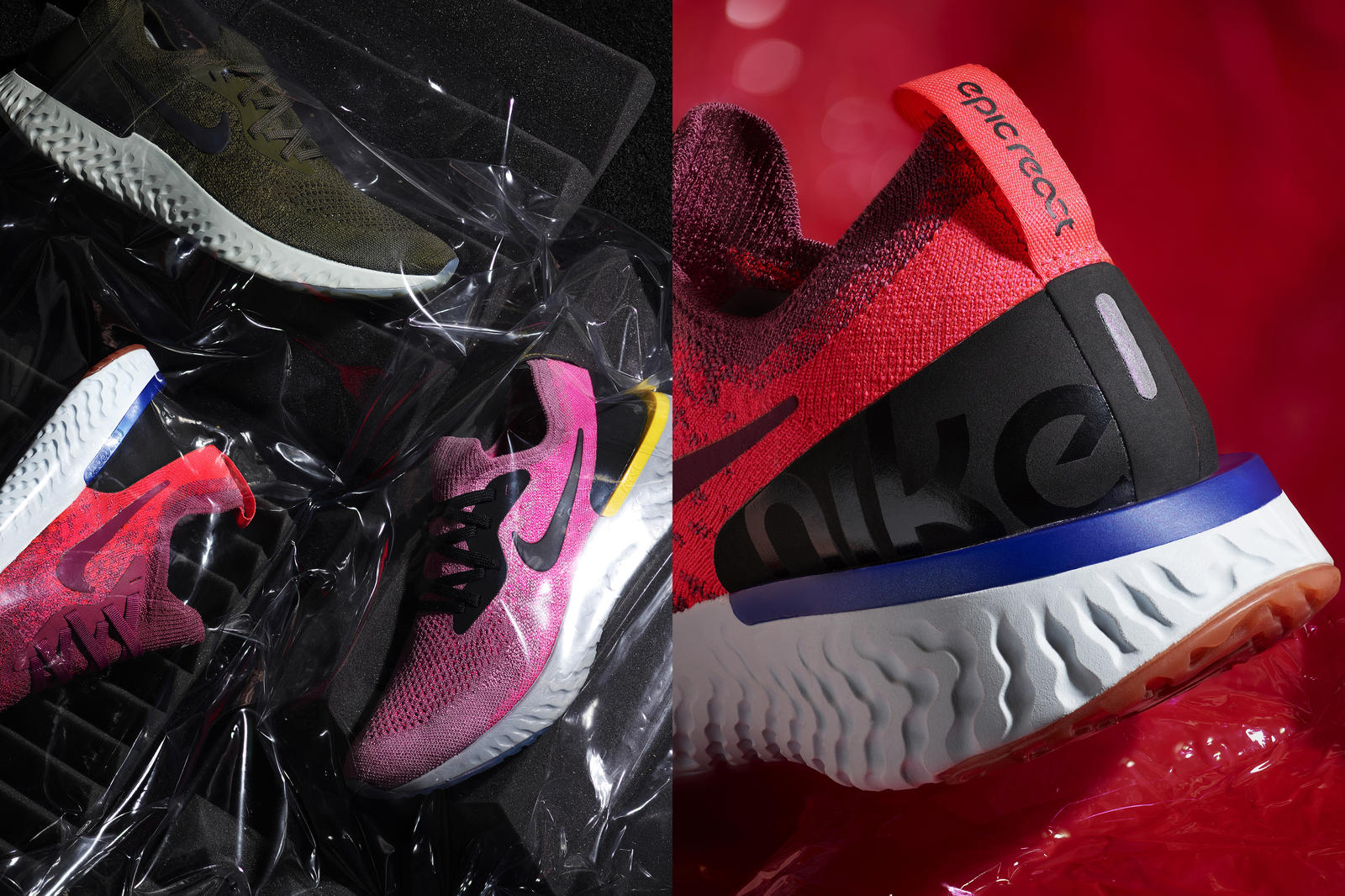 Through Nike Unlaced, women will have access to a broad variety of  colorways in performance footwear, including the Nike Epic React Flyknit  running shoe, ...