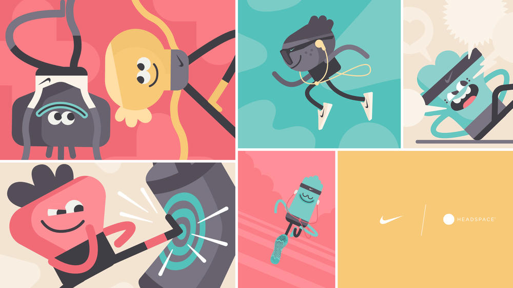 Nike Headspace Partnership Mindfulness Training