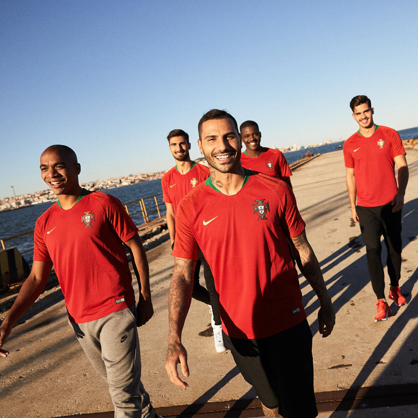 Hail Europe's Kings: Portugal's New Kits Flash Gold and Kinetic Green 26