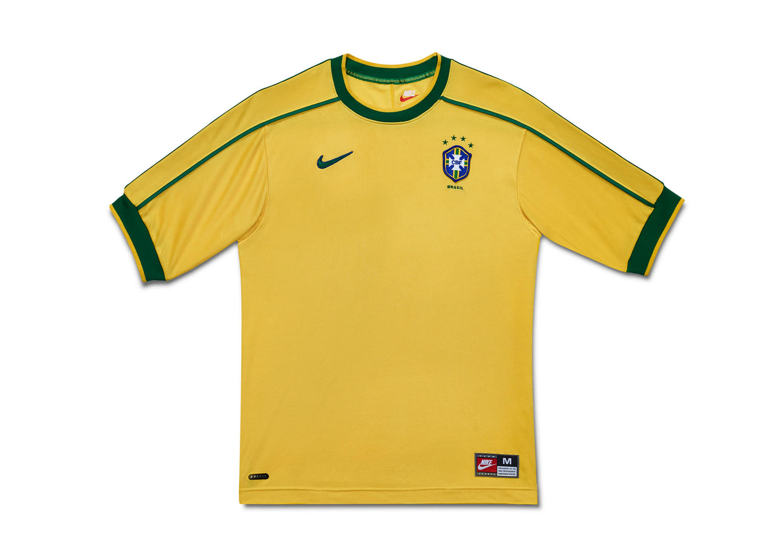 a0111dd8cb8 A Retrospective of Brasil s Yellow Jersey - Nike News