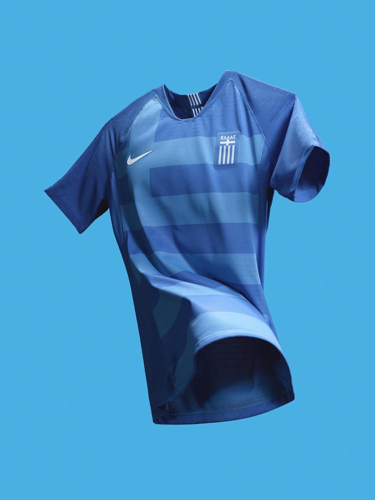 Bask in Greece's Glorious Hellenic Blue Away and Crisp White Home Kits
