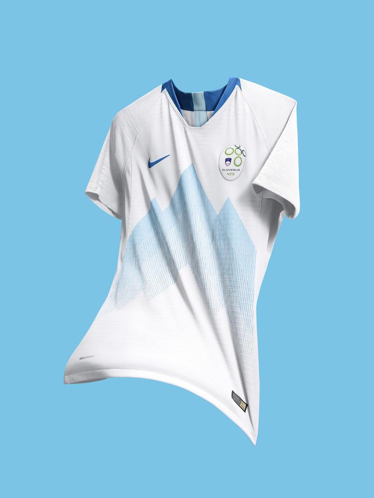Slovenia's Football Kits Celebrate a Cherished National Icon
