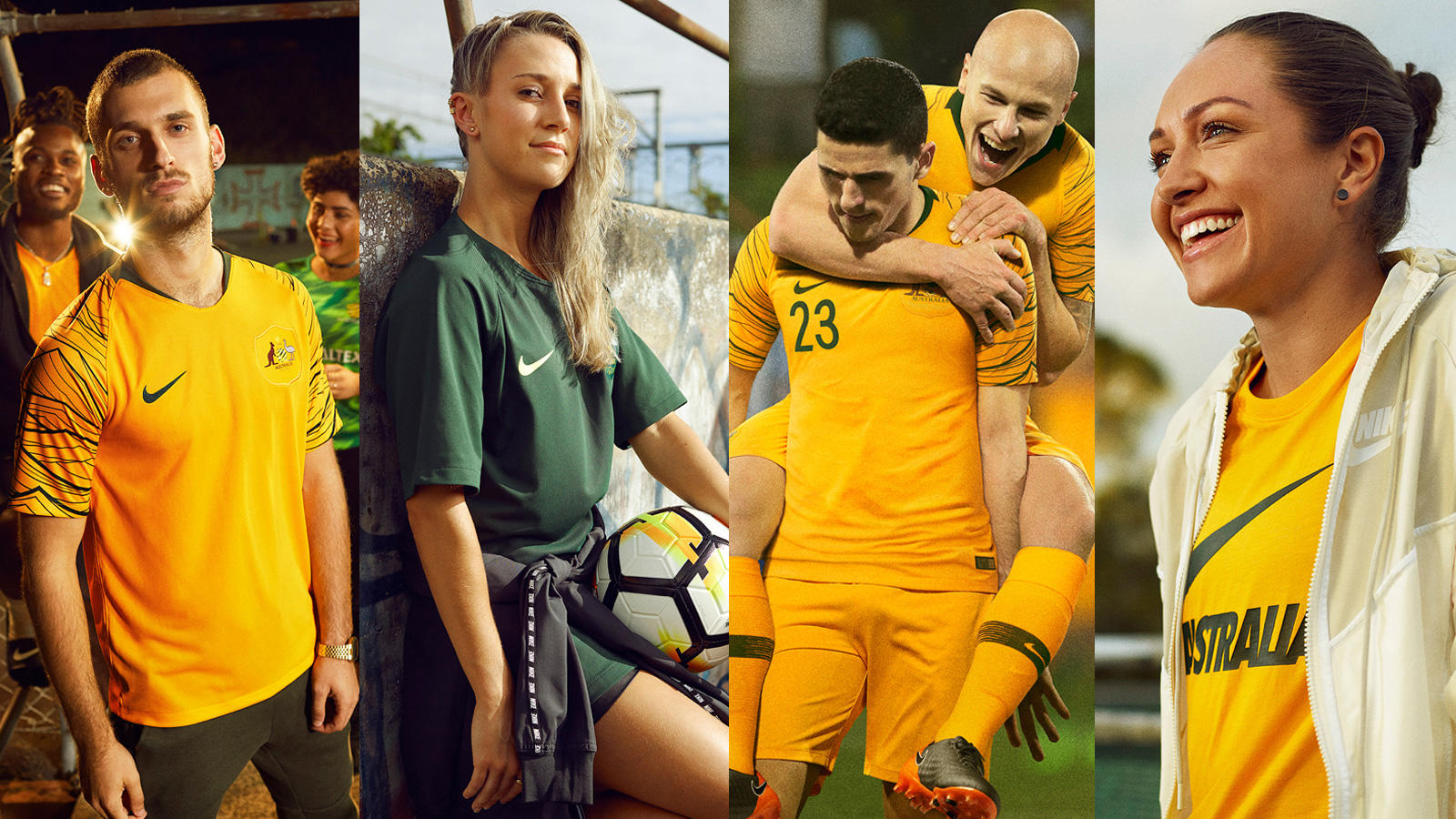 Australia's New Kit Honors Footballing Pioneers - Nike News