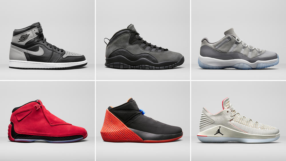 Jordan Brand Unveils Select Styles For Summer 2018