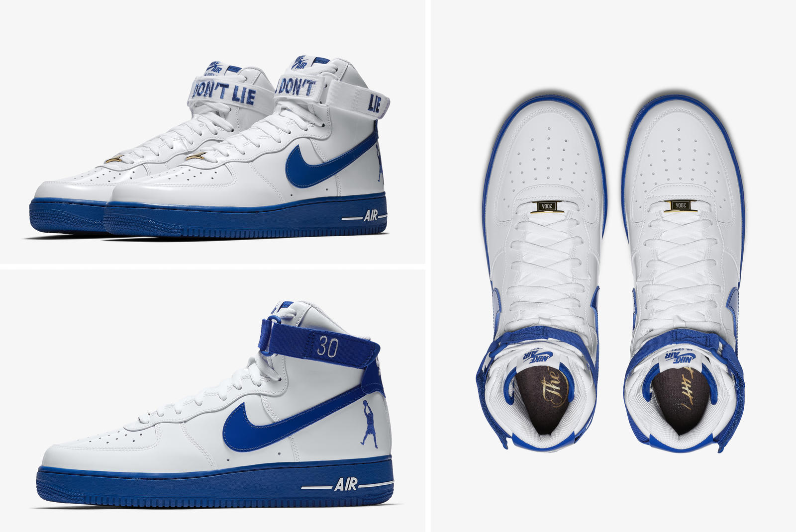 "on sale 31201 7675f Rasheed Wallace s domination of the Lakers inspired the Nike Air Force 1  High Retro ""Rude Awakening,"