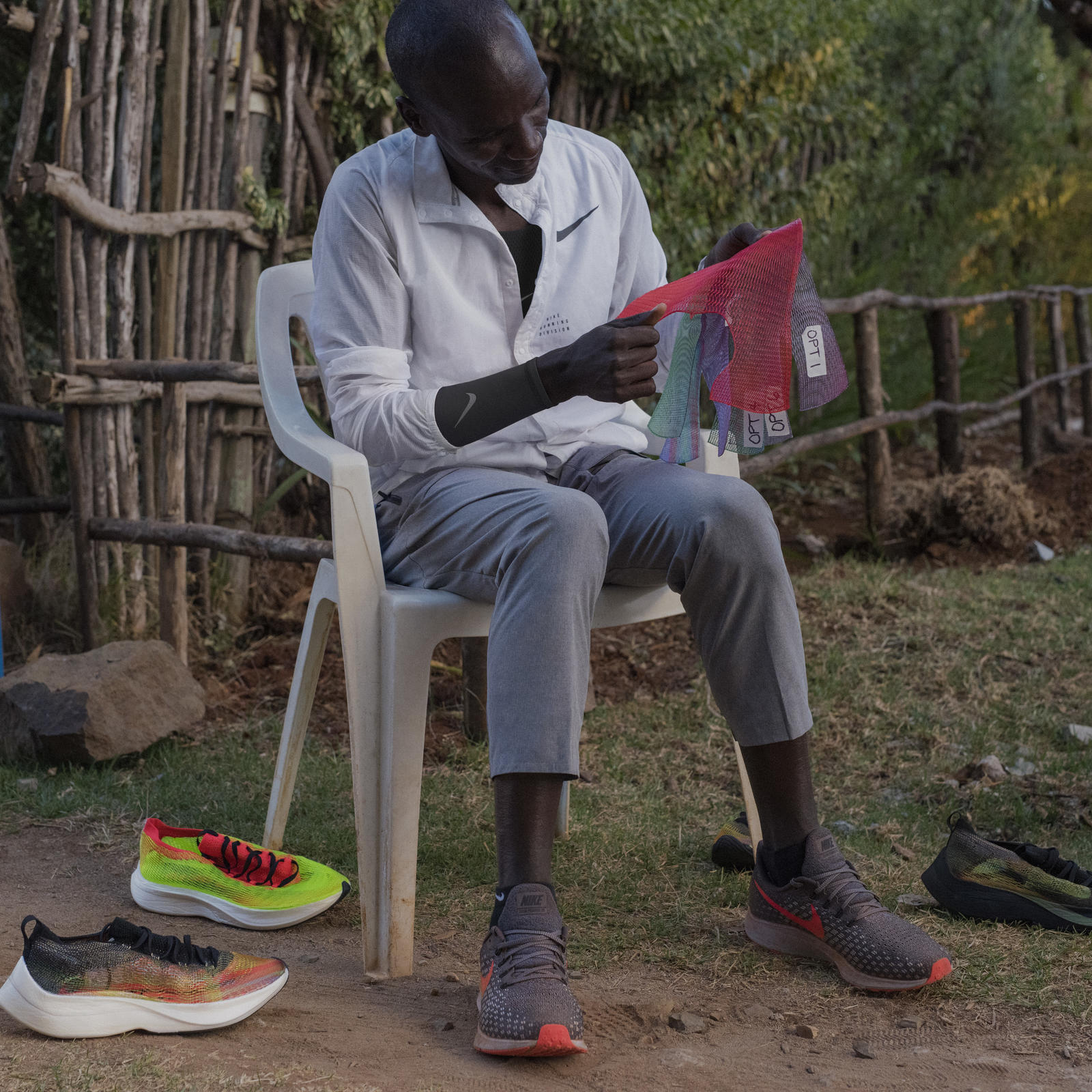 07b7913b03a9 How Eliud Kipchoge Helped Perfect Nike s 3D Printing Process For ...
